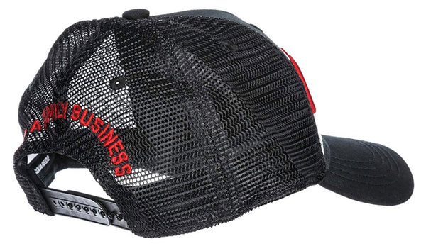8d090d51 ... DSQUARED2 1995 BROTHERS CANVAS & MESH TRUCKER HAT