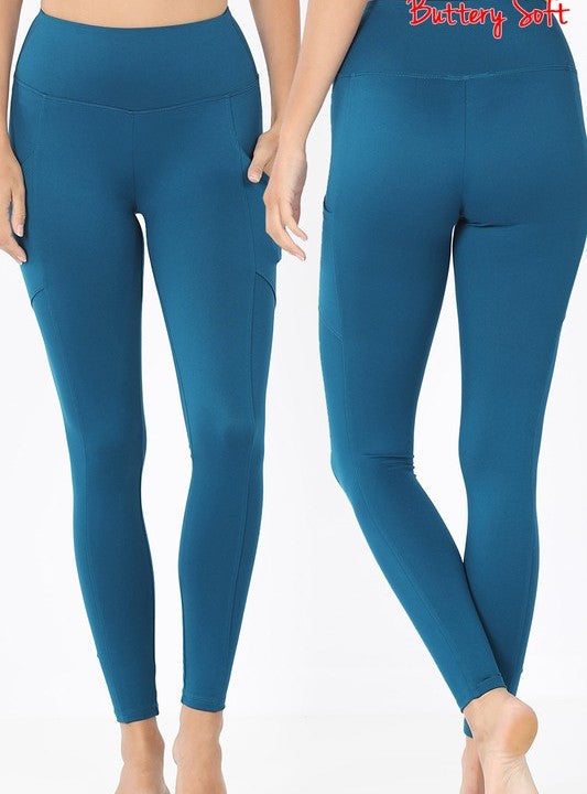 Microfiber Pocket Legging