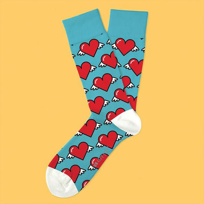 'Love is in the Air' Everyday Socks