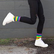 'Color Me Rainbow' Everyday Socks
