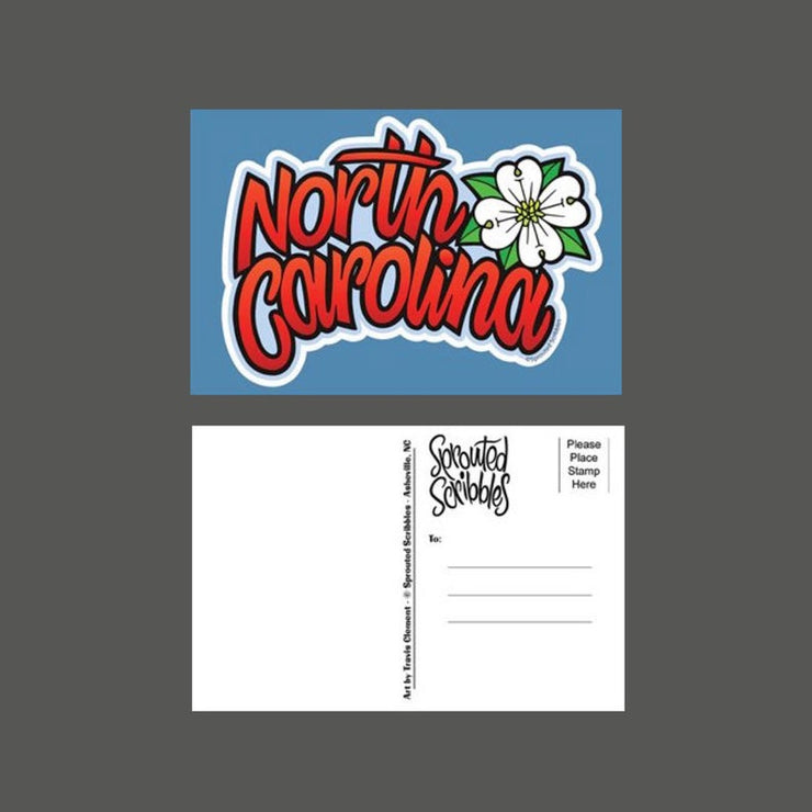 North Carolina Dogwood Postcard