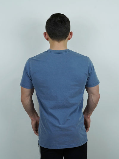 Crux Tee Faded Blue