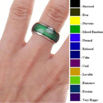 Color Changing Mood Ring (5 Sizes)