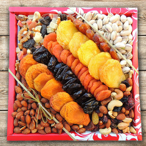 Square Fruit & Nut Box 42 oz
