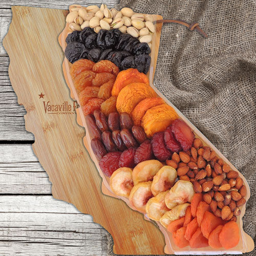 Dried Fruit California Bamboo Cutting Board 26 oz