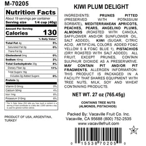Kiwi, Plum & Nuts Delight 27 oz