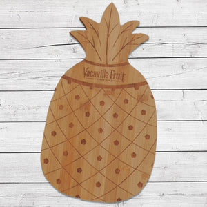 Dried Fruit Pineapple Bamboo Cutting Board 26oz