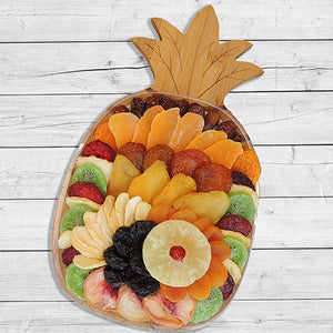 Dried Fruit Pineapple Bamboo Cutting Board 26 oz