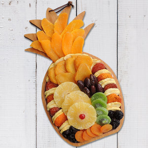 Dried Fruit Pineapple Bamboo Cutting Board 30 oz