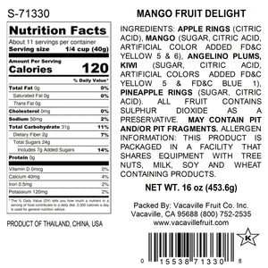 Mango Fruit Delight 16 oz