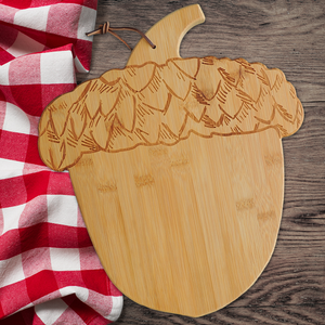 Dried Fruit & Nut Acorn Cutting Board 26 oz