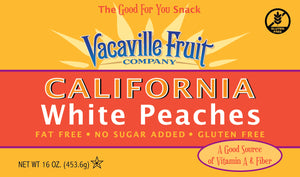California White Peaches