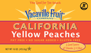 California Yellow Peaches