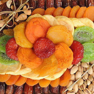 Square Fruit & Mixed Nut Pistachio Tray 23 oz
