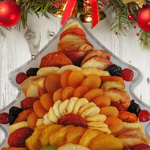 Christmas Tree Serving Tray 40 OZ
