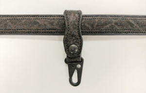 Exotic Leather Keychain