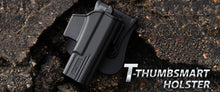 Load image into Gallery viewer, T-ThumbSmart Series Paddle Holster with a FREE single Universal Magazine
