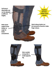 Load image into Gallery viewer, Universal Ankle Holster with Detachable Calf Strap