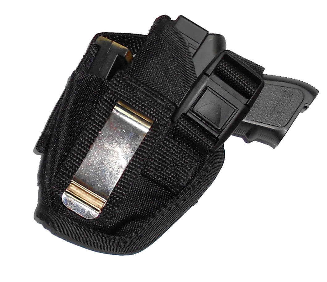 Belt and Clip Nylon Holster with Extra Mag