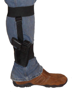 Universal Ankle Holster with Detachable Calf Strap
