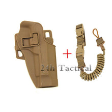 Load image into Gallery viewer, Military Combat Gun Belt Holster For Beretta M9 92 96 Pistol Tactical Hunting Airsoft Pistol Outdoor Army Game Waist Gun Holster