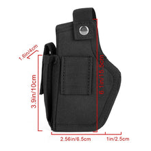 Load image into Gallery viewer, Leather Gun Holster for Concealed Carry Pistol Airsoft Gun Bag Hunting Articles for S&W M&P Shield All Similar Sized Handguns