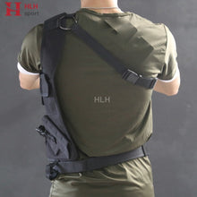 Load image into Gallery viewer, AAA Tactical Waist Pistol Holster Safety Anti-thief Hidden Holster Molle Hidden Gun Bag Hunting Shoulder Bag Sport Storage