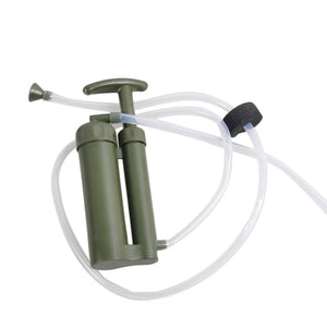 Portable Soldier Water Filter Purifier Cleaner Outdoor Hiking Camping Survival Emergency