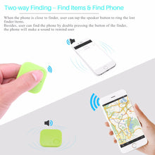 Load image into Gallery viewer, Mini Smart Bluetooth Finder Tracker Pet Child GPS Locator Tag Alarm Wallet Key Bluetooth 4.0 Tracker Smart Finder For Andriod