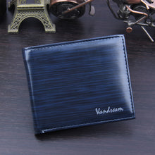 Load image into Gallery viewer, Men Bifold Business Leather Wallet  ID Credit Card Holder Purse Pockets