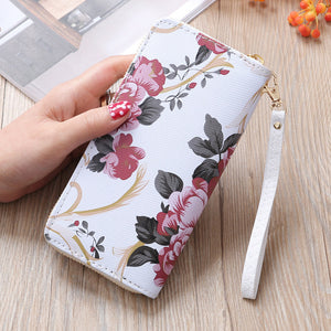 Fashion Women Stone Road Wallet Coin Bag Purse Phone Bag