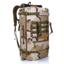 Load image into Gallery viewer, Hot Top Quality 50L New Military Tactical Backpack Camping Bags Mountaineering bag Men's Hiking Rucksack Travel Backpack