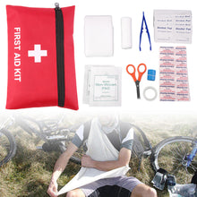 Load image into Gallery viewer, 1pc 12Types Camping Emergency Survival Tools All In One Tool First Aid Kit