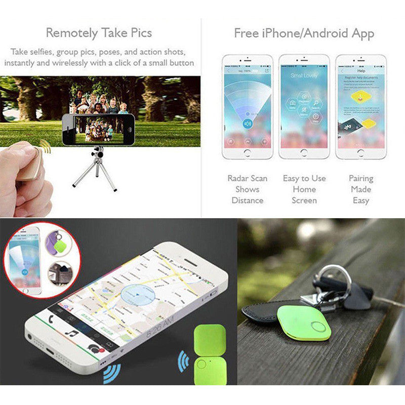 Mini Smart Bluetooth Finder Tracker Pet Child GPS Locator Tag Alarm Wallet  Key Bluetooth 4 0 Tracker Smart Finder For Andriod