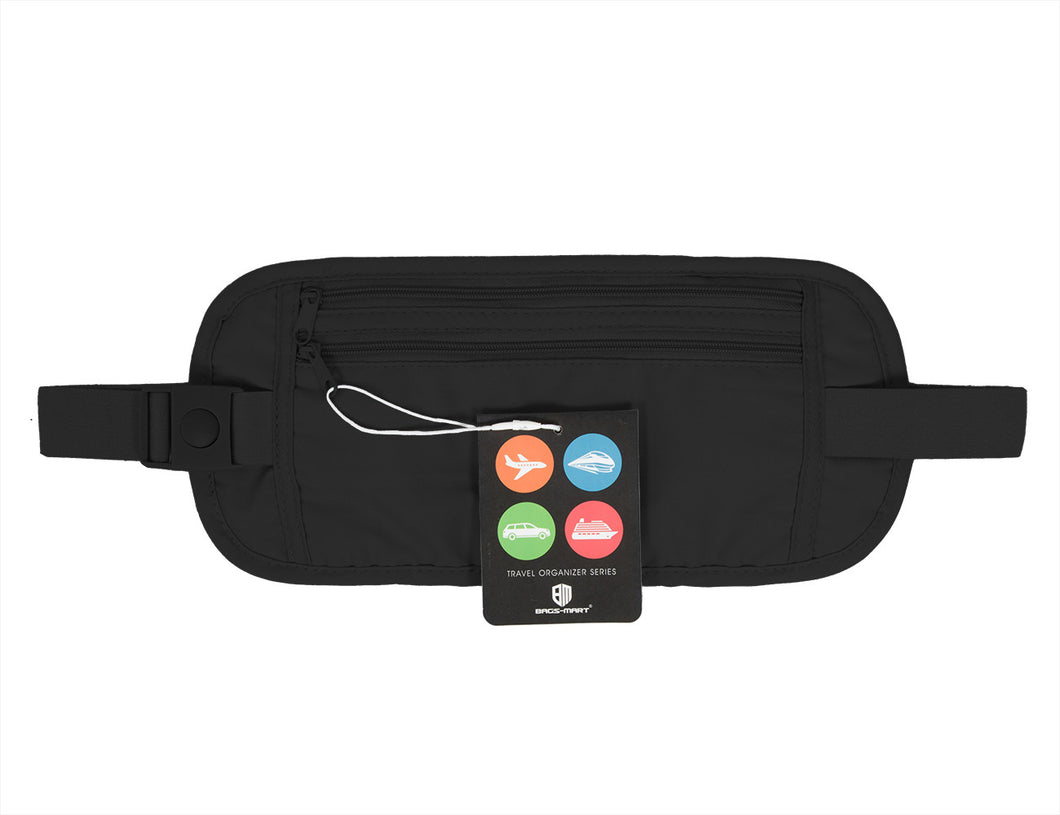 BAGSMART Travel Wallet Change Bags Belt Waist Bag For iPhone Packing Organizer Passort Cover Over Security