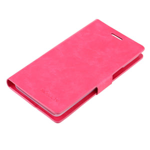 KKMOON Flip PU Leather Bumper Protective Case Cover with Stand Wallet for Lenovo K3 Note