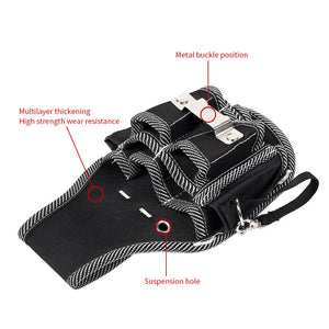 Waist Pocket Tool Bag Electrician Working Simple Multifunctional Wallet Carrying Storage Bags