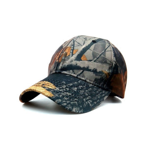 Mens Camouflage Military Adjustable Baseball Caps Camo Hunting Fishing Army Hat