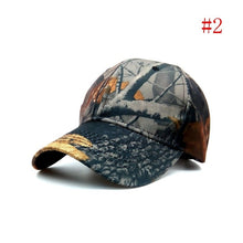 Load image into Gallery viewer, Mens Camouflage Military Adjustable Baseball Caps Camo Hunting Fishing Army Hat