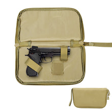 Load image into Gallery viewer, Tactical Pistol Carry Bag Portable Military Handgun Holster Pouch Durable Hand Gun Soft Case Portable Gun Magazine Pouch