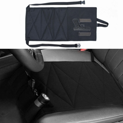 Hunting Nylon Concealed Car Seat Pistol Holster and Mattress Bed Hand Gun Holder Holster Hidden Holster For Car Seat
