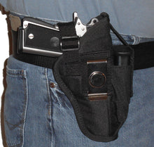 Load image into Gallery viewer, Belt and Clip Nylon Holster with Extra Mag