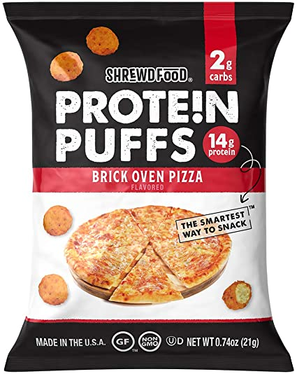 Shrewd Keto Puffs Brick Oven Pizza