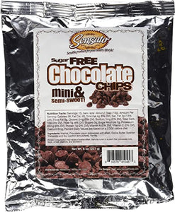 Sensato - Sugar Free Mini Semi-Sweet Chocolate Chips
