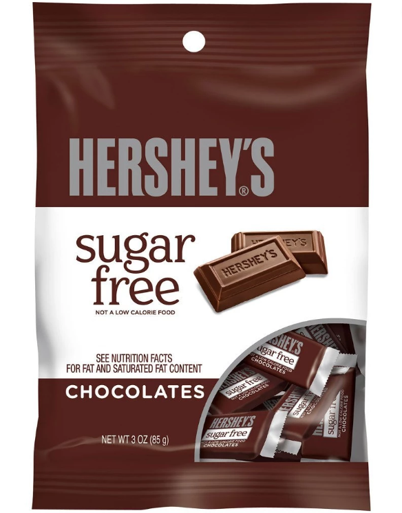 Hershey's - Sugar Free Milk Chocolate