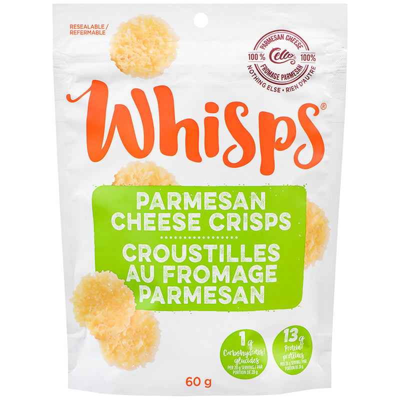 Whisps - Parmesan Cheese Crips 60g