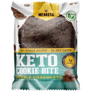 MeaKeto - Keto Chocolate Chip Cookie - Double Chocolate