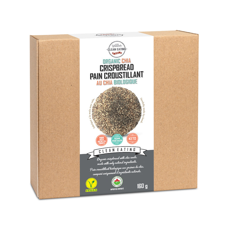 Clean Eating - Organic CHIA Crisp Bread