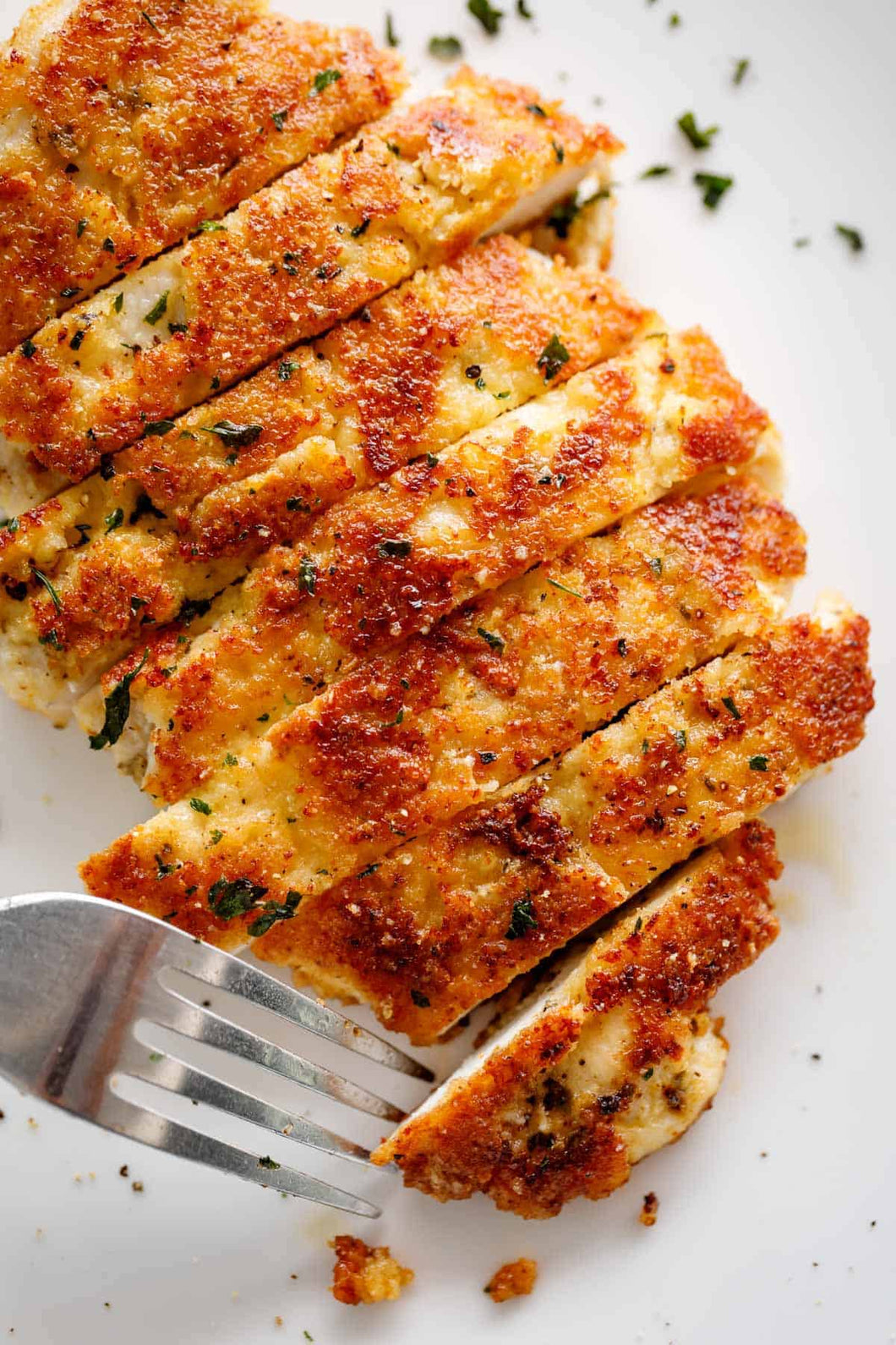 2 PACK OF KETO PARMESAN CRUSTED CHICKEN BREAST