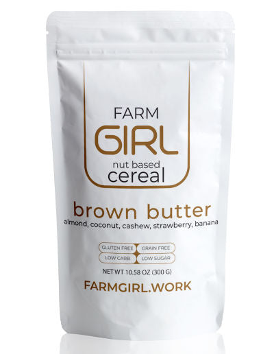 Farm Girl Keto Brown Butter Granola